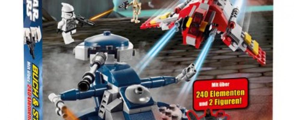 Lego Buch und Steine Set
