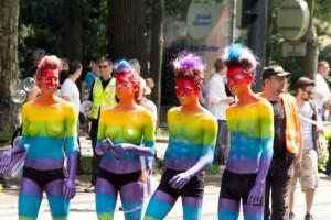 Regenbogenparade 2013