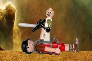 Lego gegen Playmobil